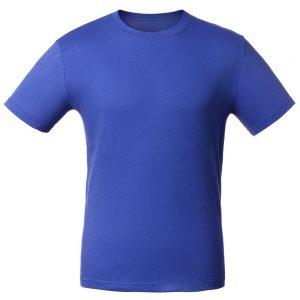 Футболка для нанесения логотипа голубой