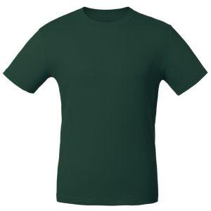 Футболка для нанесения логотипа темно-зеленый
