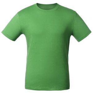 Футболка для нанесения логотипа зеленый