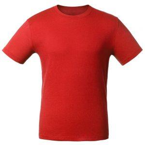 Футболка для нанесения логотипа красная